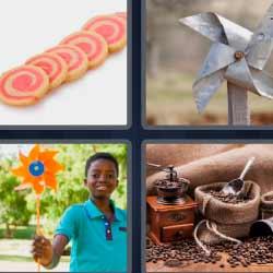 4 fotos 1 palabra niño jugando
