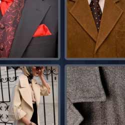 4 fotos 1 palabra corbata camisa