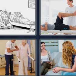 4 fotos 1 palabra fisioterapia