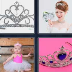 4 fotos 1 palabra corona