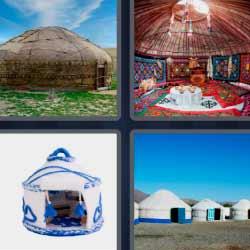 4 fotos 1 palabra tienda hindu
