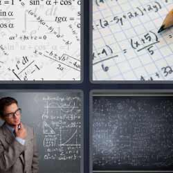 4 fotos 1 palabra matematicas
