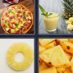 4 fotos 1 palabra pizza