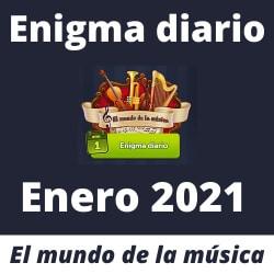 Enigma diario Enero 2021
