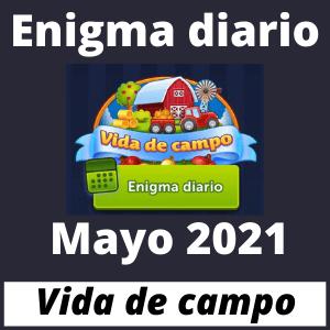 Enigma diario mayo 2021 respuestas